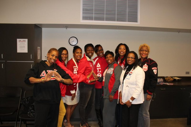 The Other Sponsor: Delta Sigma Theta Sorority